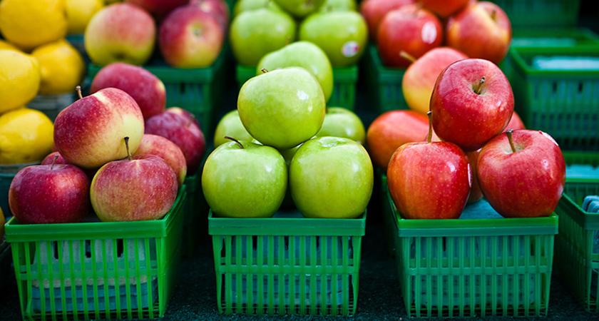 mere - alimente bune pentru rinichi